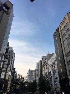 名古屋の錦3丁目の風景