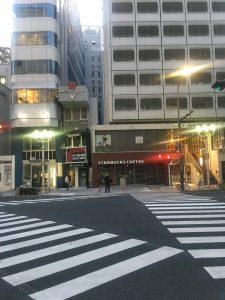 矢場町のスタバの休業